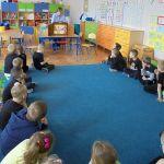 Kamishibai- spotkanie z przedskolakami.