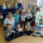 Boże Narodzenie w lesie-spotkanie z przedszkolakami.elf.a