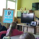 Spotkanie z pisarką MonikąSawicką.