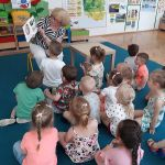 """""""Kicia Kocia w bibliotece"""" - spotkanie zprzedszkolakami.a"""
