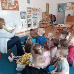 Miś koralik- spotkanie z przedszkolakami.