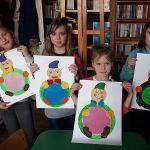 Skrzat jagodka - zajęcia plastyczne