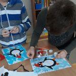 Wariacje na temat pingwinów - zajecia lastyczne.