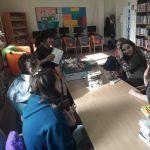 Młodzi, biblioteczni pomocnicy :)