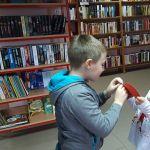 Wróżby andrzejowe w bibliotece
