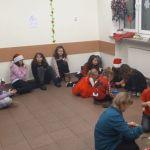 Spotkanie z Mikołajem w świetlicy
