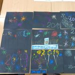 Witamy Nowy Rok - zajęcia plastyczne